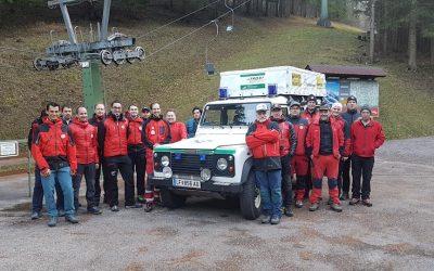 Winterdienstkoordination mit Winterdiensteinteilung / Ortsstelle Lilienfeld + Ortsstelle Freiland.