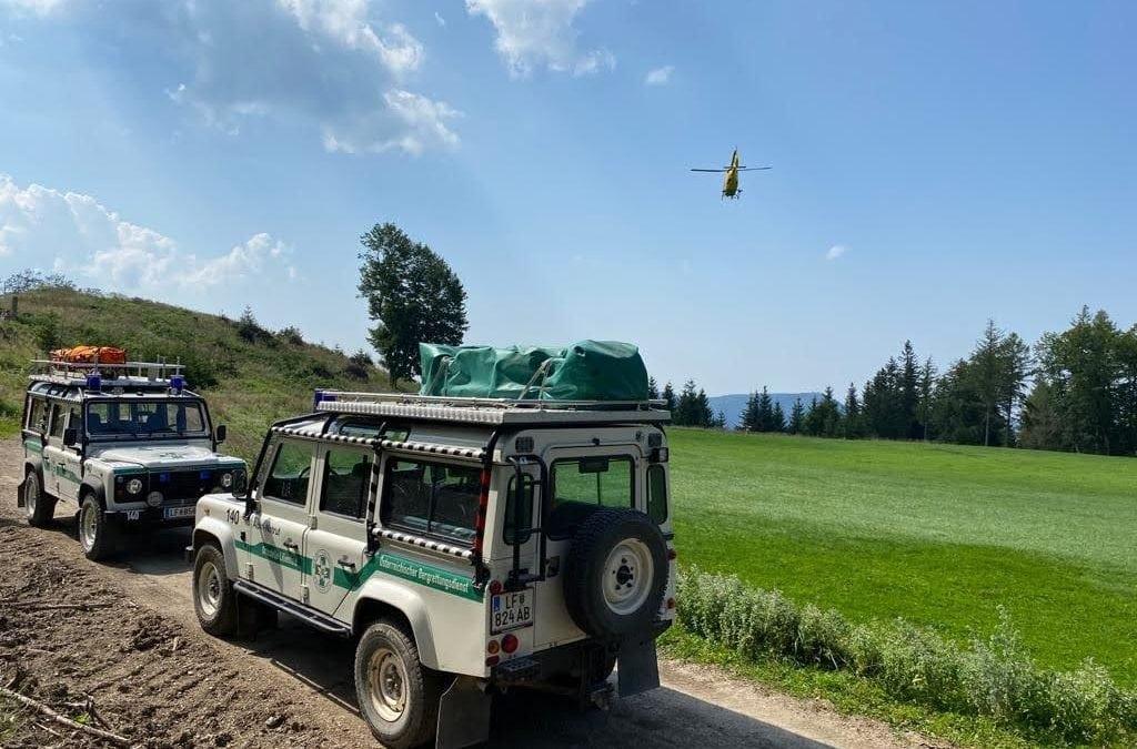 81-Jährige von Hubschrauber abtransportiert / Wanderin litt am Muckenkogel unter Herz-Kreislauf-Beschwerden