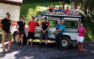 Sommerspaß mit der Bergrettung
